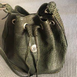 Versace Alfredo leather bag